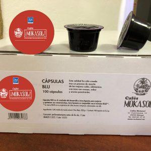 Cápsulas Café 100% Natural Mokasol