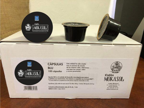 Cápsulas Café Arábico 100% Natural Mokasol